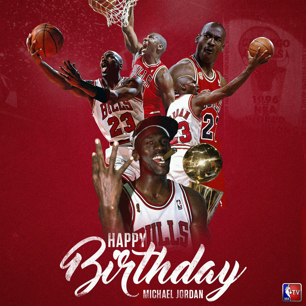 Happy Birthday, Michael Jordan! The 6x NBA Champion, 5x MVP & 14x All-Star turns 54 today. 🎉