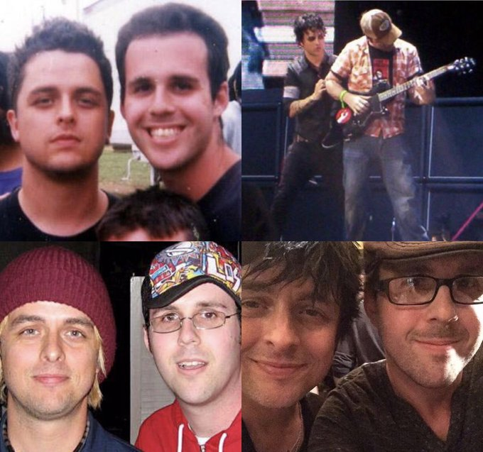 Happy 45th birthday, Billie Joe Armstrong!