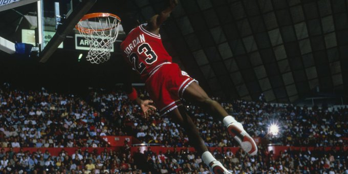 Happy birthday to Michael Jordan
