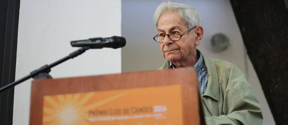Raduan Nassar discursa contra governo Temer no Prêmio Camões.