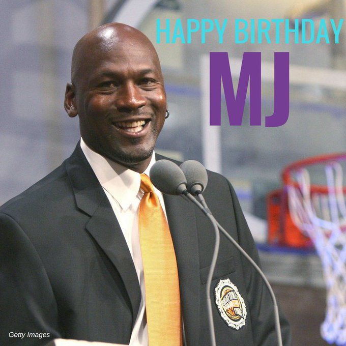 Happy 54th birthday to basketball icon Michael Jordan!
