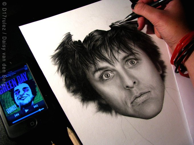 Happy 45th birthday, Billie Joe Armstrong! Here\s to many more years of making music!