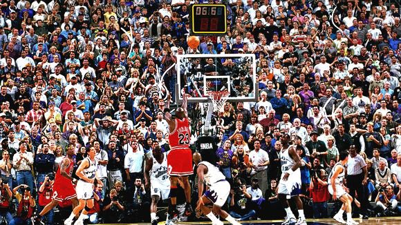 """Last name ever, first name greatest\"". Happy Birthday to Michael Jordan."
