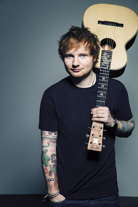 Happy Birthday to Ed Sheeran, who turns 26 today!