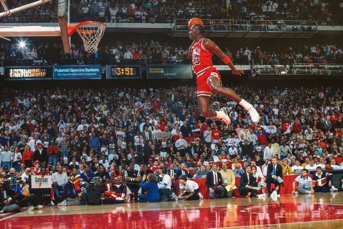 Happy birthday to Michael Jordan, who continues to inspire people on and off the court.