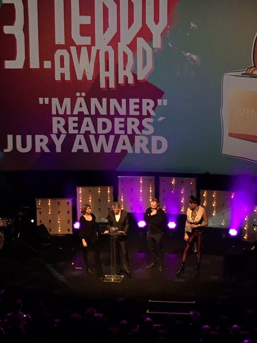 RT @TeddyAward: And the winner is: @gocfilm by @strawhousefilms Francis Lee!!! #männerreaderaward #teddyaward https://t.co/cs6S2omhPr