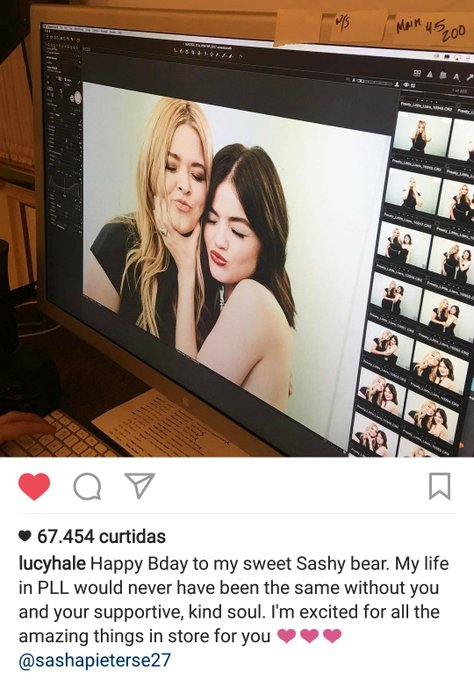 LUSHA É LINDO DEMAIS Happy Bday Sasha Pieterse