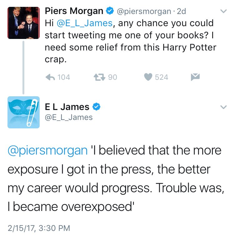 I am afraid I must report that Piers Moron has been monumentally owned again.