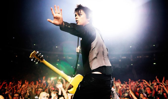 Happy 45th birthday to Billie Joe Armstrong of Green Day!