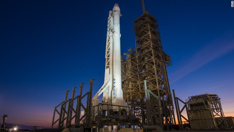 SpaceX is set for a historic Florida launch this weekend