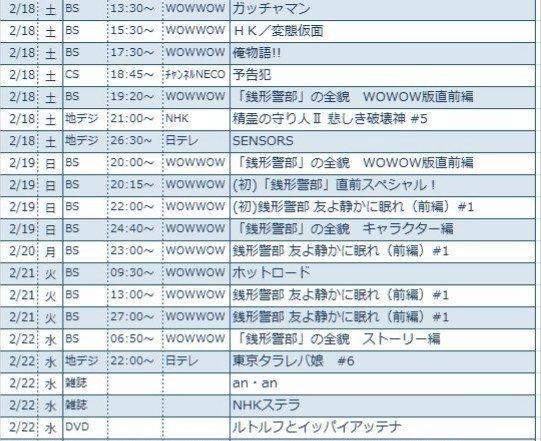 #鈴木亮平TV 本日、2/18はWOWOWで鈴木亮平祭りですよ🎵13:30 ガッチャマン15:30 HK/変態仮面17: