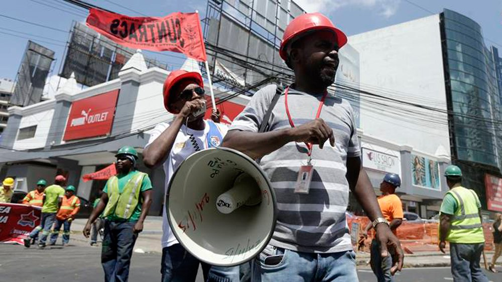 Odebrecht case: Thousands protest in Panama City