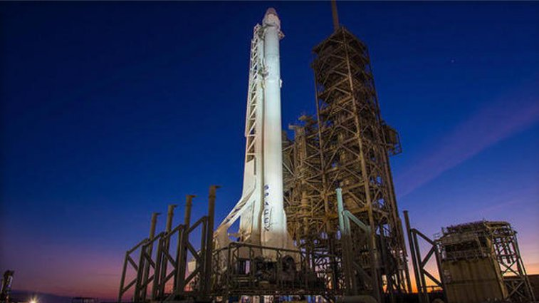 SpaceX is readying a Falcon 9 rocket for a historic launch Saturday