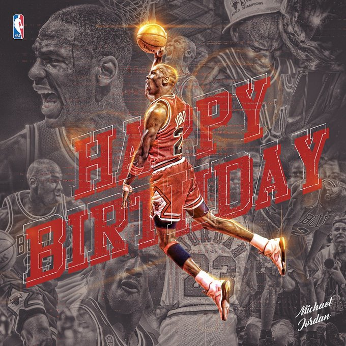 Happy 54th Birthday Michael Jordan            HITH N°23