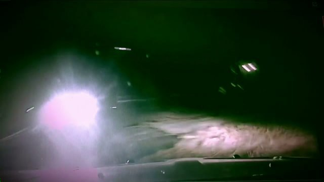 Dashcam video shows truck nearly hit Franklin County officer