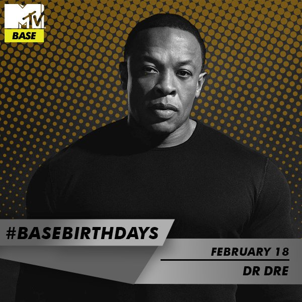 | We all needed a Doctor and we got one ! Happy birthday to Andre Romelle Young aka  Dr. Dre