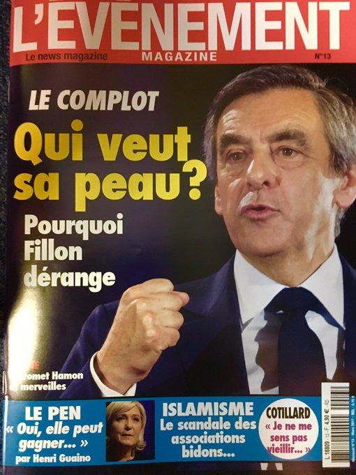 Après Le Figaro , etValeurs ,L'événement magazine, aujourd'hui en kiosques,pose la question. La presse est-t'elle en train de se retourner ?