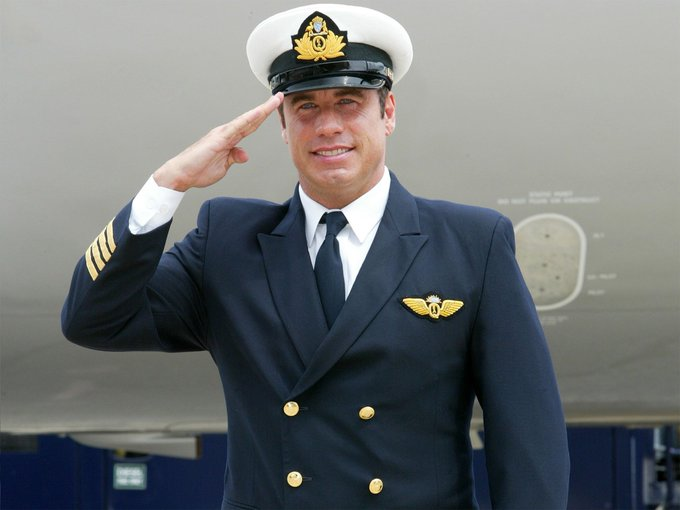 Happy Birthday John Travolta! Did you know that he is an accomplished pilot? He has been a pilot for over 30 years!