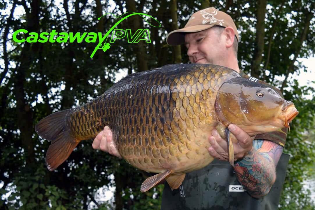 New @Castaway_PVA Team member  Chris Johnson   https://t.co/M3nUaClNvR #carp #fishing #pva #carpfish