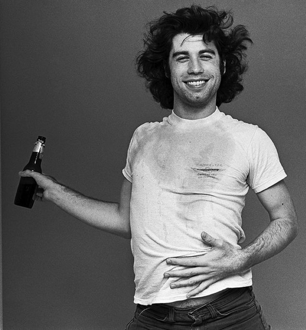 Happy birthday to John Travolta. Photo by Norman Seeff, 1976.
