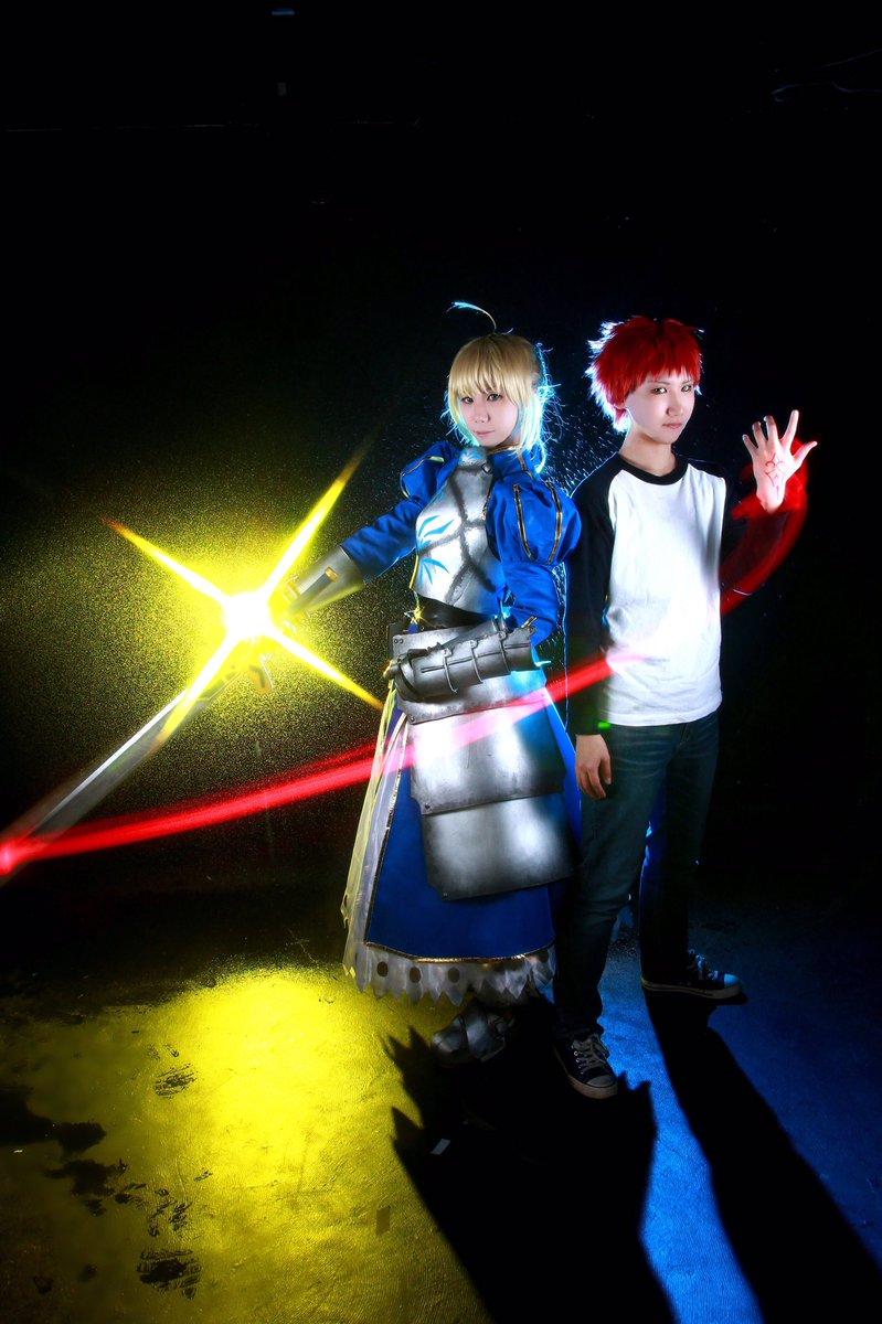 「これより我が剣は貴方と共にあり、貴方の運命は私と共にある。」【Fate/stay night】衛宮士郎  まきしセイバ