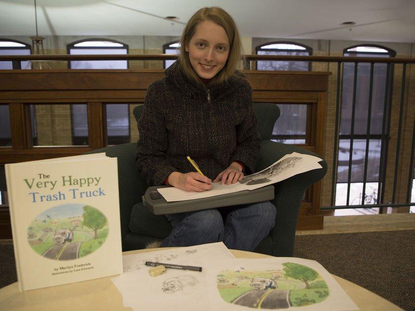 Art meets science; UMSL grad student illustrates children's book