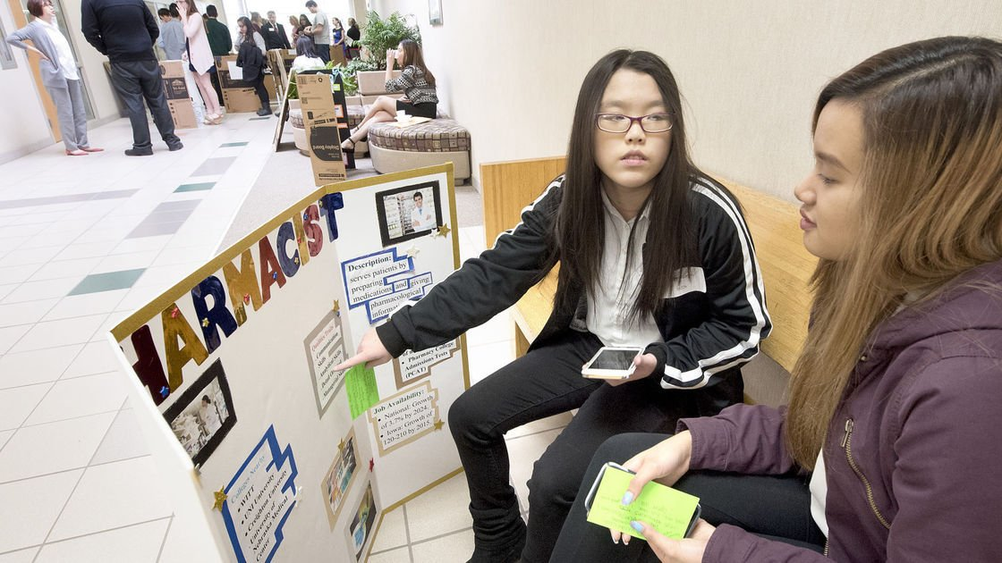 Students test their health career skills at Western Iowa Tech