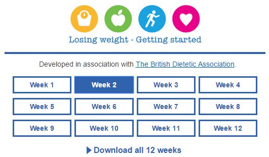 Get help losing weight by using our NHS weight loss plan: https://t.co/n09rdWImU0