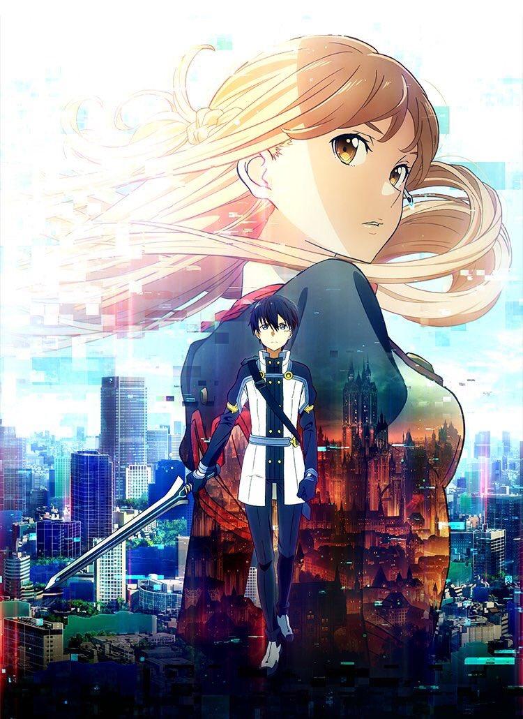 SAOの映画も見たし、次はトリニティーセブンとFate/stay nightの桜編見たいな♪♪