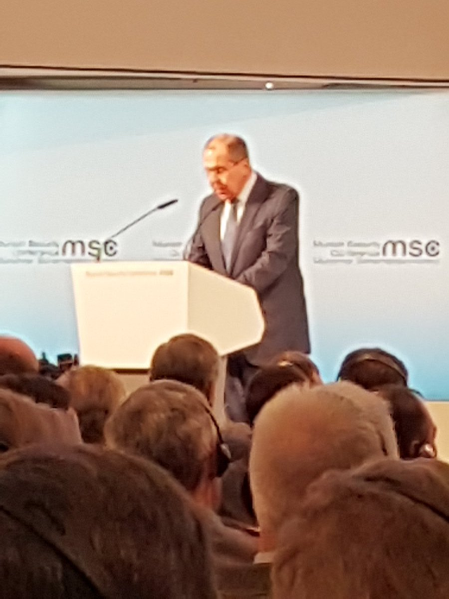 Lavrov: looking forward to the 'post - west' world