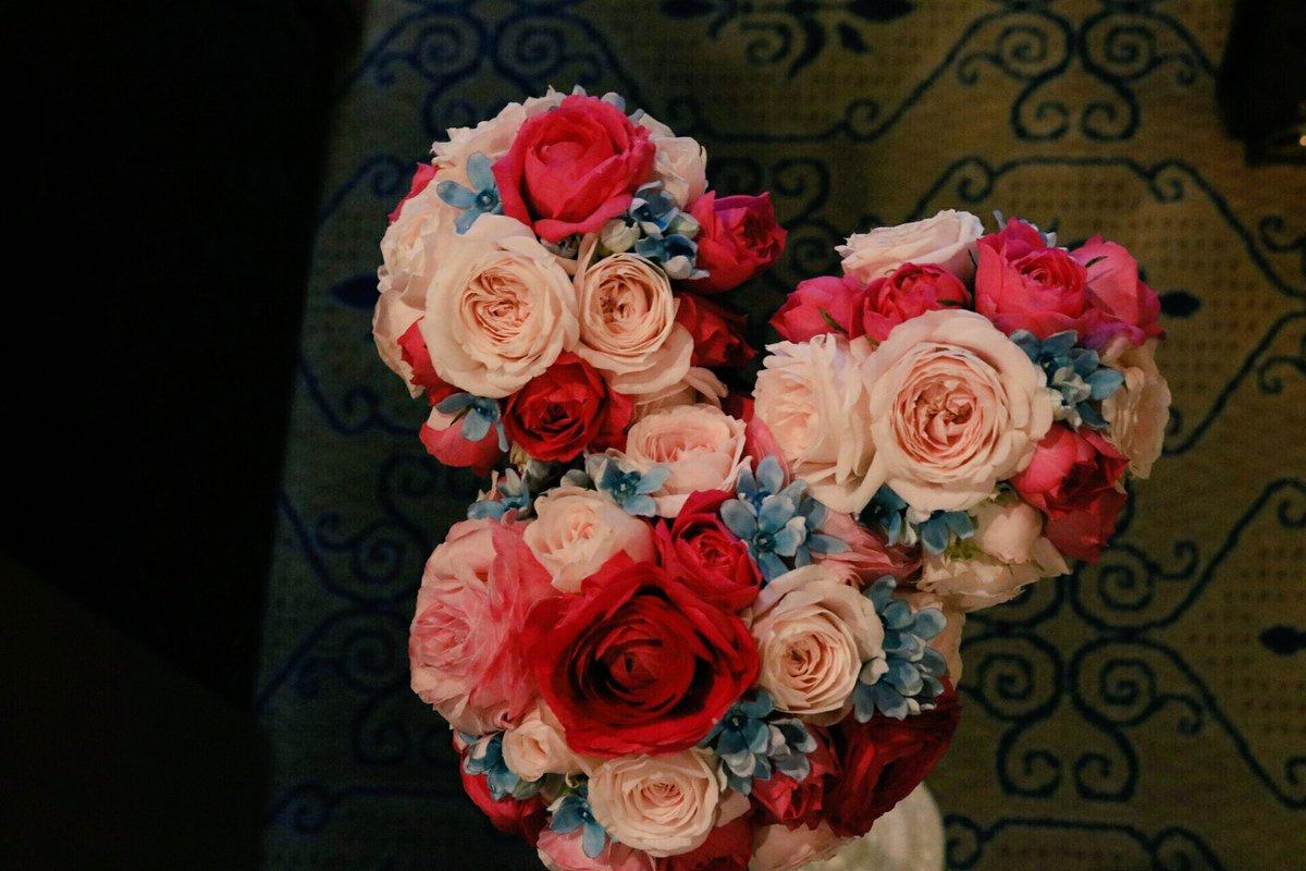 ともだちの結婚式のブーケがミッキーさんだった(*'ω'*) https://t.co/tKExbr608h