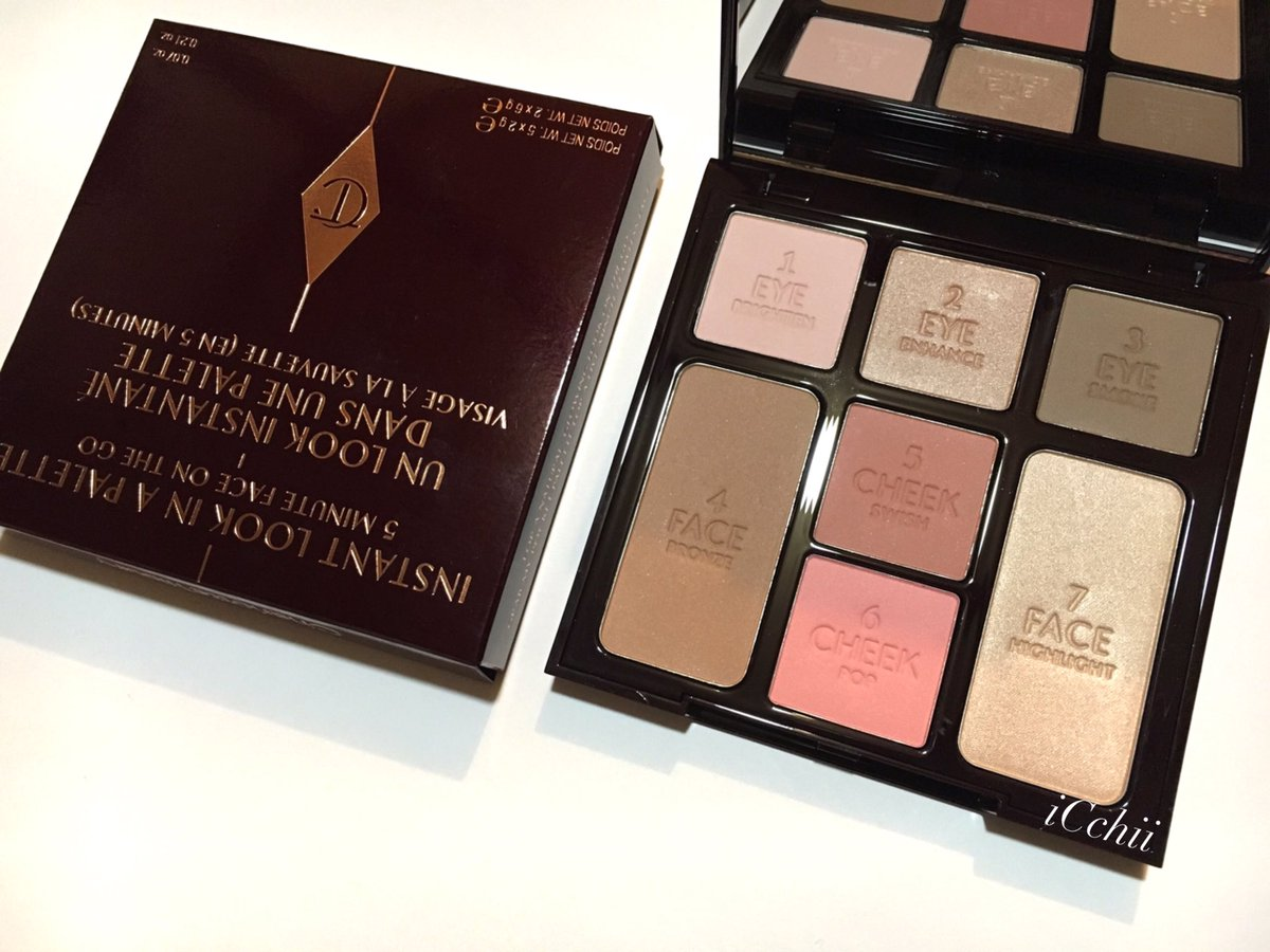 <Charlotte Tilbury> INSTANT LOOK IN A PALETTEこれはマジでいいぞ