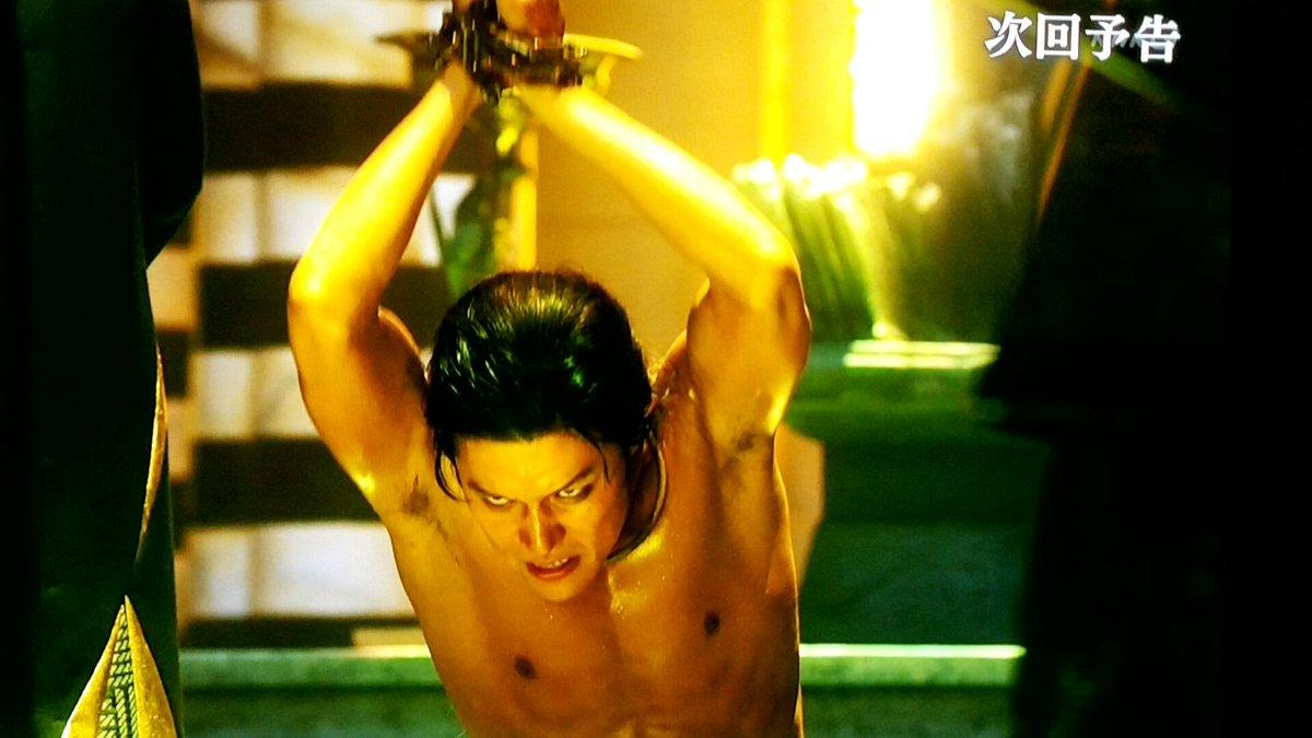 ていうか、来週ヤバイね💕💕💕 #鈴木亮平 #精霊の守り人 #ヒュウゴ