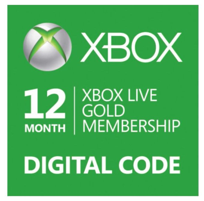 12 Months of Xbox Live Gold Giveaway