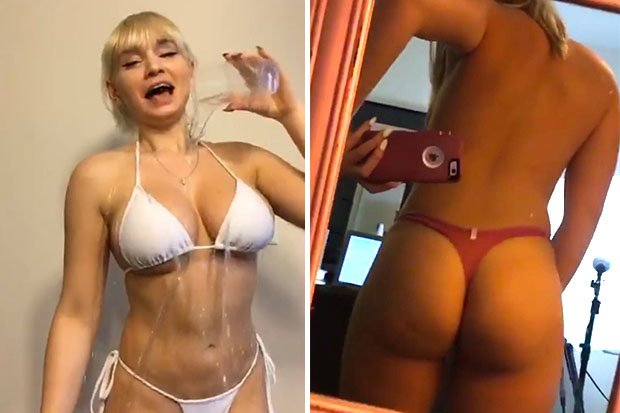 Hot Gaming Girl Strips And Shows Off Bum To Fans For Cash In Outrageous Video