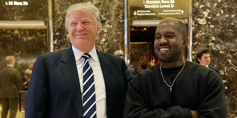 Kanye West deletes references to President Trump from Twitter