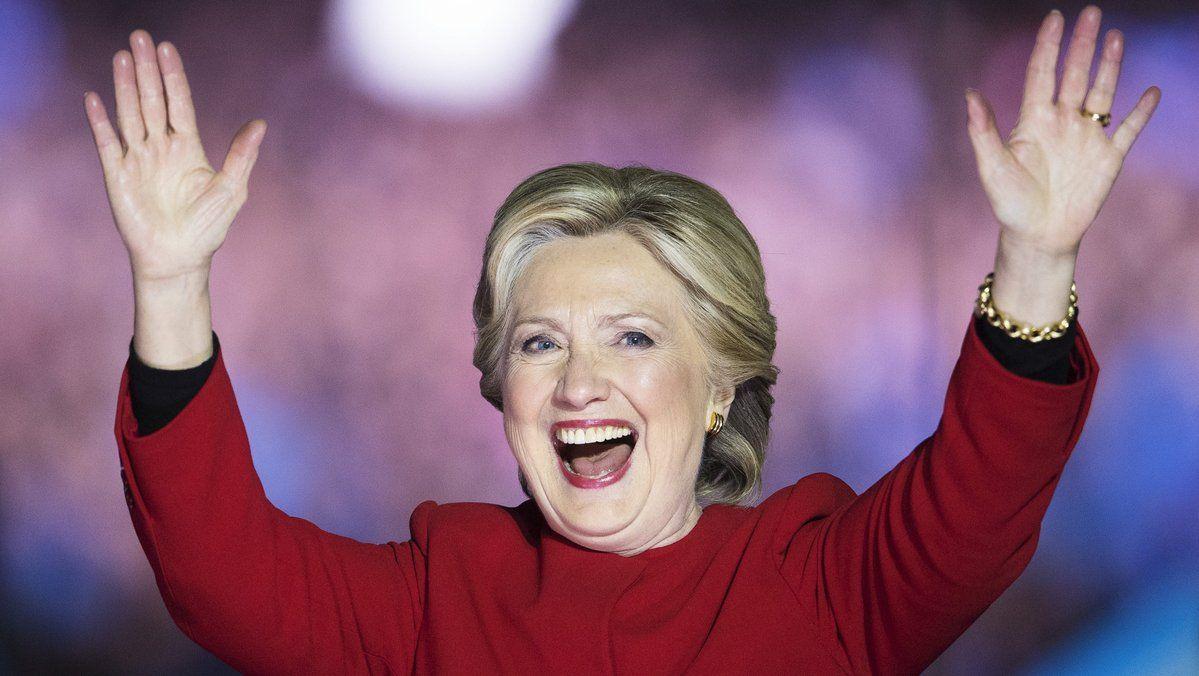 "Hillary Clinton's rallying call to nasty women everywhere: ""The future is female"" https://t.co/Ulk0m3UV51"