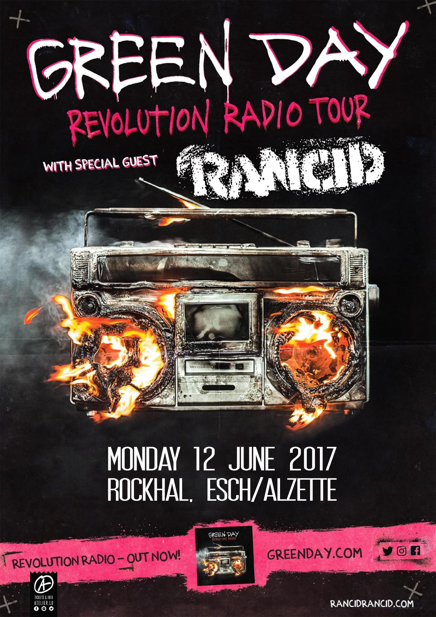 June 12 - Luxembourg - @rockhal_lu  General Sale: Fri, 10th Feb at 10am  https://t.co/GX44XiuTcw https://t.co/757Ljb8gFM