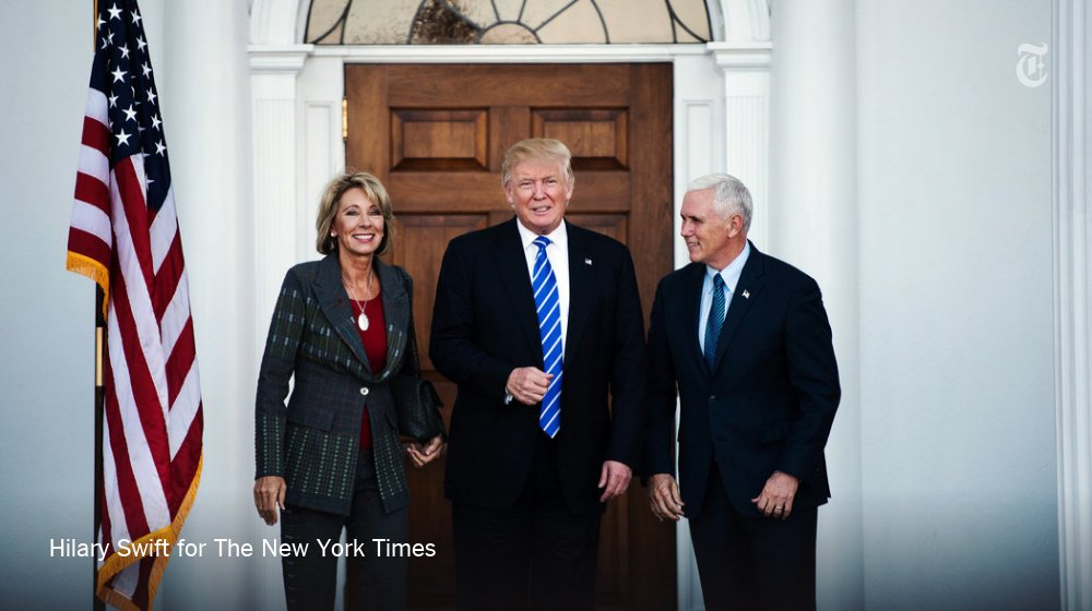 Betsy DeVos's rocky path as Trump's pick for education secretary