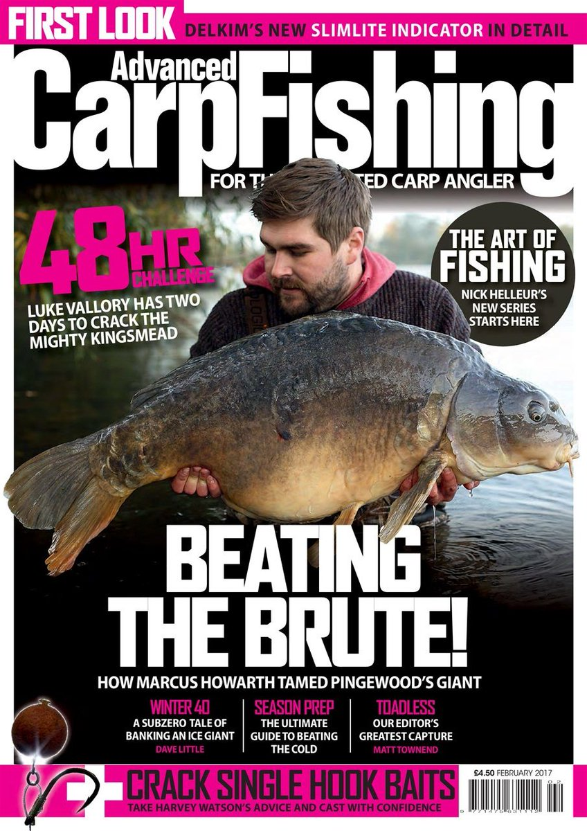 Beating the brute - reel big catches in this month's @AdvancedCarpMag 🎣 <b>💪</b>https://t.co/m