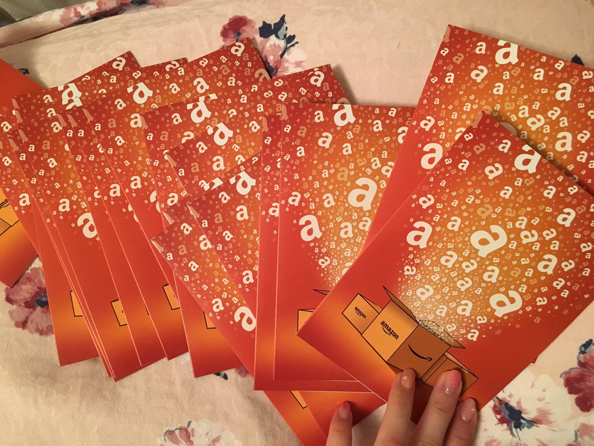 これがAmazonギフト券20枚だ!!!by西 #洲崎西