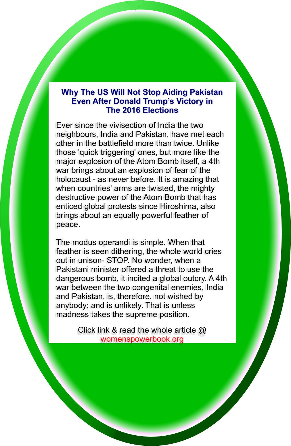 #f17 #attack #elite #RT Read 150 sub till climax site:Why US aids Pak- Its economy stupid https://t.co/F0ZKJkr6C4 https://t.co/le81O5QDB9