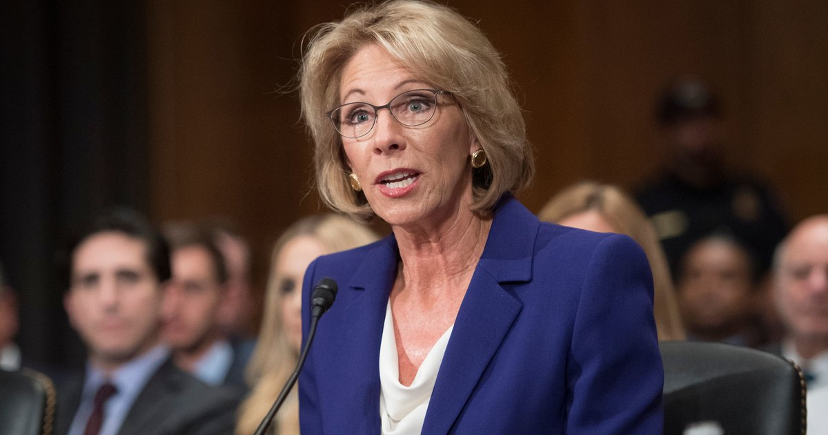 Betsy DeVos confirmed Education secretary in historic vote