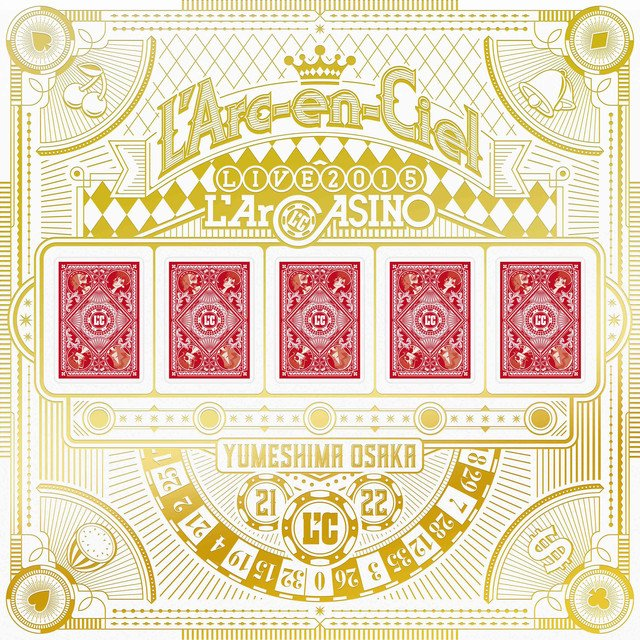L'Arc-en-Ciel「L'ArCASINO」ライブDVD/BDトレイラー解禁 https://t.co/u7uMD4amIj #larcenciel