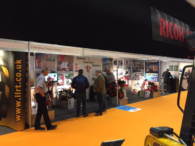 test Twitter Media - The @ExecHireShow is well under way at @ricoh Coventry. Demon are exhibiting on stand C190 with the #lpg range of #pressurewashers for #hire https://t.co/bP70m7WeCa