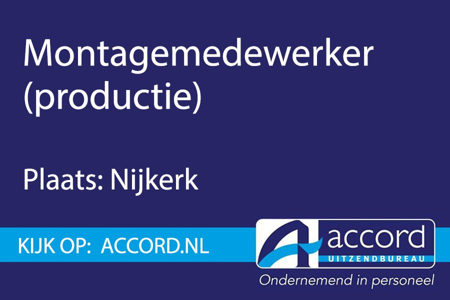 test Twitter Media - #Vacature: Montagemedewerker productie in Nijkerk.  https://t.co/VOHk0J23ZR https://t.co/X5r8cf5Y1k
