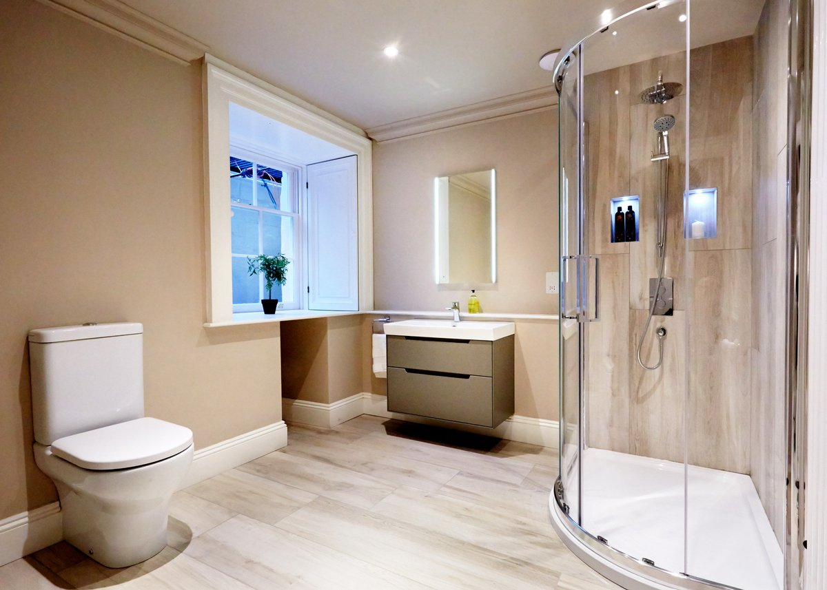 test Twitter Media - The Laura Ashley Monograph unit and basin gives a contemporary focus to this bathroom in our recent project at Cleveland House. https://t.co/LDJbkAxMsl