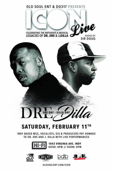 Happy Birthday J. Dilla, Dr. Dre and Bob Marley