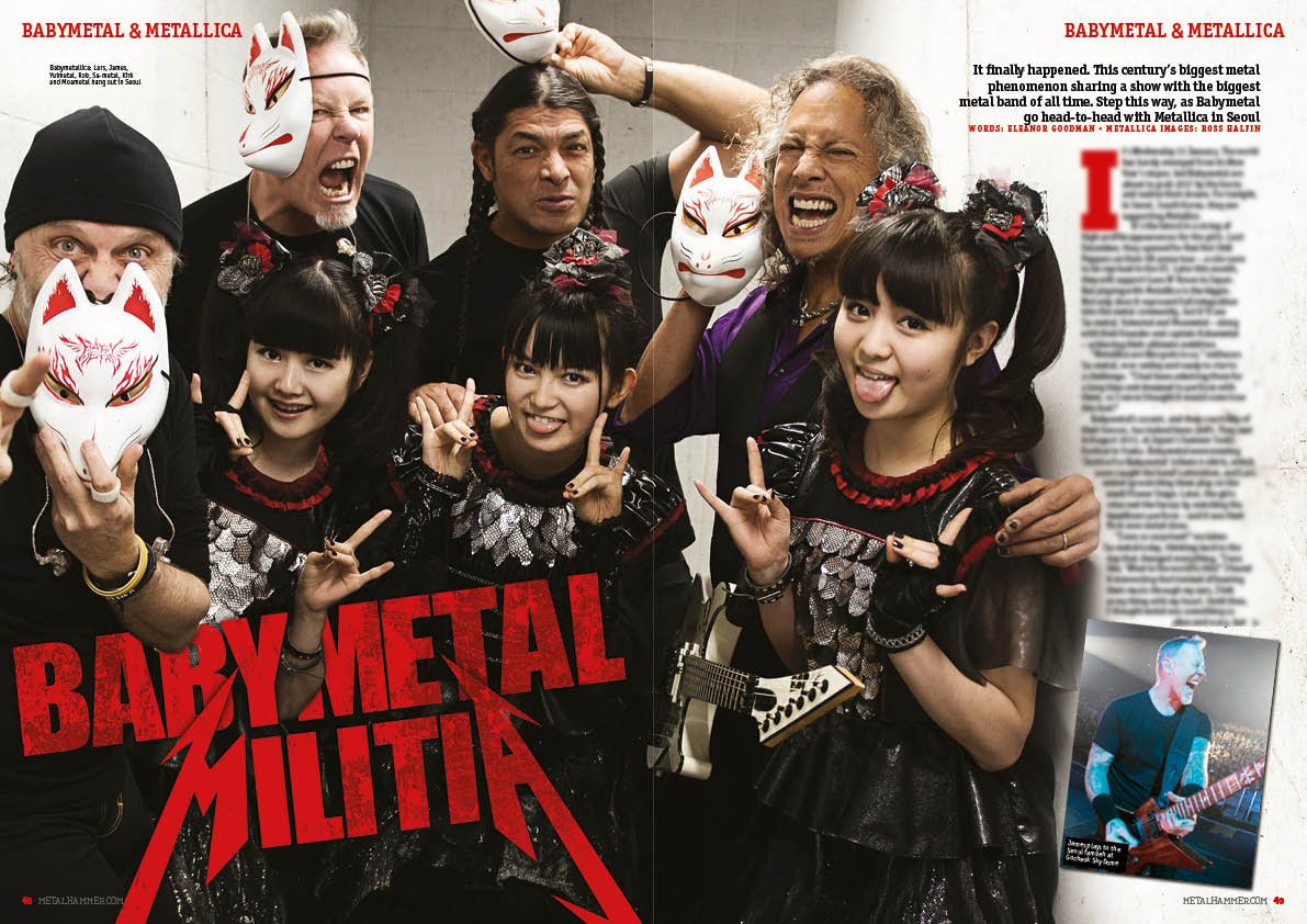 And we find out what happened when @Metallica went head to head with @BABYMETAL_JAPAN in Seoul! #...