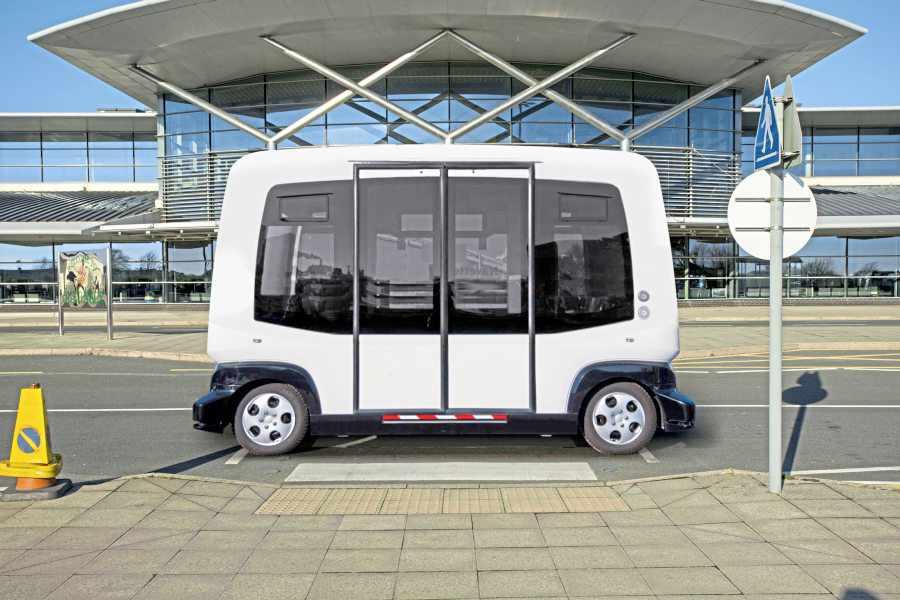 Driverless bus faces 'unique challenges' « Guernsey Press